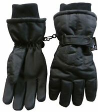 NICE CAPS Womens Waterproof Thinsulate Cold Weather Winter Ski Glove with Ridges