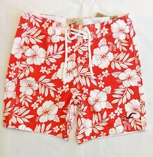 HOLLISTER by Abercrombie Men Malibu Floral Board Swim Trunks Shorts NwT Small