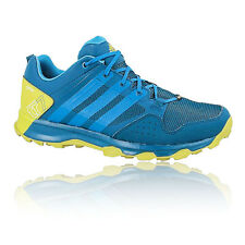 Adidas Kanadia 7 TR Mens Blue Gore Tex Waterproof Trail Running Sports Shoes
