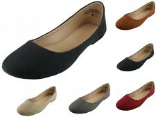 Womens Fashion Casual Ballet Suede Flats Slip On Shoe Loafers Boat Single Shoes