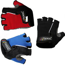 Road Cycling Bike Moutain Bicycle Half Finger Glove Sport Fingerless Gloves
