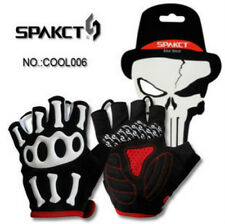 SPAKCT Outdoor Sports Bicycle Bike Cycling Short Half Finger Gloves Black Glove