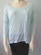ANTHROPOLOGIE Porridge Polka Dot Dolman Tee Shirt NwT Large