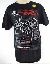 NINTENDO NES RETRO VIDEO GAME SYSTEM CONTROLLER GRAPHIC T SHIRT NEW NWOT