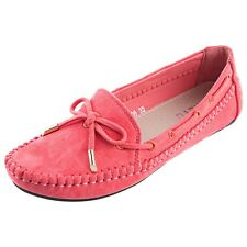 Womens Ballet Loafers Bowknot Round Toe Slip On Casual Flat Loafers Walk Shoes