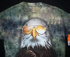 Chemistry The American Bald Eagle Tie Dye Animal T Shirt Mens S-XXL New