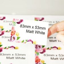 Personalised Extra Large XL address labels/stickers/Company Name