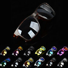 Summer Unisex Retro Vintage Mirrored Sunglasses Eyewear Outdoor Sports Glasses