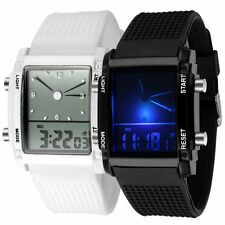 Unisex Womens Mens Digital Led Chronograph Quartz Sport Wrist Watch NEW