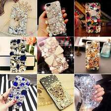 Luxury 3D Bling DIY Handmade Rhinestone Crystal Diamond Phone Case Cover Skin