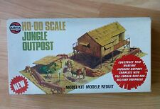 Airfix Vintage 1976 Model Kit No.04381-8 Series 4 HO/OO Scale Jungle Outpost