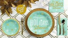 C.R. Gibson Christmas Holiday Dining Party Paper Napkins – Holiday Shine