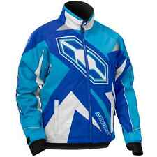 Castle X™ Youth Boy's Launch G3 Insulated Snowmobile Jacket - Blue - 72-432_