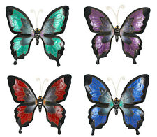 New Large Stunningl Butterfly Wall Art | Metal Sculpture | 65 x 69 cm Indoor Out