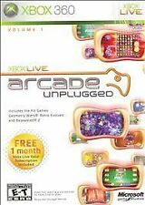 Xbox 360 Xbox Live Arcade Unplugged VideoGames ***NEW***
