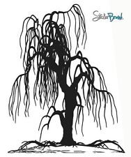 Vinyl Wall Decal Sticker Weeping Willow Tree