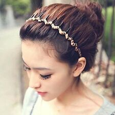 New Korea Style Women Girls Hairbands Hair Comb Floral Leopard Party Hair Band