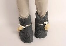 New Women 100% Wool Sheep Leather Hot Warm Winter House Home Indoor Slippers lot