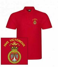 HMS Victorious Embroidered Polo Shirts