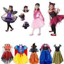 Kid Girl Halloween Costume Pirate Fairy Outfit Xmas Party Fancy Dress Up Clothes