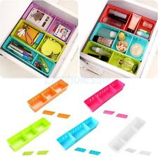 Adjustable Drawer Case Cabinet Storage Pen Holder Box Desk Tidy DIY Organizer