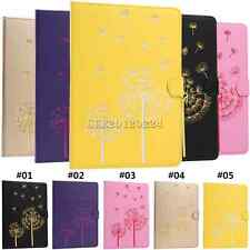 Embossment Folio Stand Leather Shockproof Cover Case For Apple iPad mini 1 2 3 4