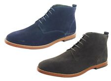 Silver Street Jermyn Lace Up Suede Desert Casual Mens Ankle Boots