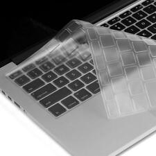 US EU Clear TPU Keyboard Skin Cover Film Protector For Macbook Pro Air 13 15 17""