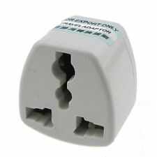 EU/UK/US/AU/NZ/HK Euro AC Power Travel Plug Socket Converter Traveling Adapter
