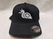 FORD F250 F350 POWERSTROKE TURBO DIESEL TURBO SNAIL FLEX FIT BASEBALL CAP HAT