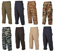 BDU Camo Tactical Pants Tru-Spec 100% Cotton Ripstop