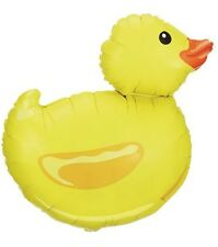 RUBBER DUCK DUCKY BABY SHOWER BALLOONS BOUQUET DECORATION GIRL BOY HELIUM FOIL