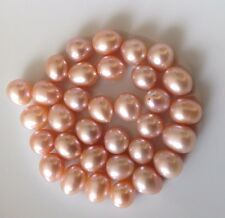 Rice Natural Pink  Colour HDD Pearls 5-6mm, 6-7mm, 8 - 9mm - AAA
