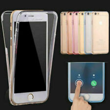 Front and Back Soft Clear Transparent TPU Gel Case For Apple iPhone 7 / 7 Plus