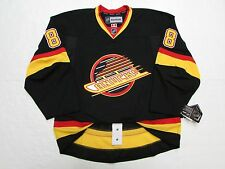 CHRIS TANEV VANCOUVER CANUCKS AUTHENTIC FLYING SKATE REEBOK EDGE 2.0 7287 JERSEY