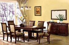 Dining Set Furniture Stylish Dining Table w/ 6 Chairs Dining Room 7pc Set Cherry