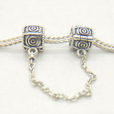 Genuine Authentic S925 Silver Dreamer Safety Chain Charm bead