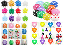 "10"" - 12"" Plain Latex Balloons Party Decorations Wedding Anniversary baloons"