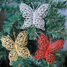 Festival Party Christmas Tree Hanging Decorations Baubles Butterflies Ornaments