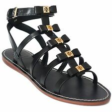 TORY BURCH Kira Gladiator Flat Leather Sandal US8.5
