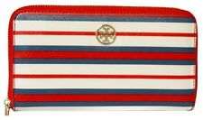 TORY BURCH Robinson Striped Continental Wallet