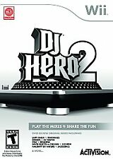 DJ HERO 2 NINTENDO WII GAME-   BRAND NEW - IN STOCK - FAST SHIP - FACTORY SEALED