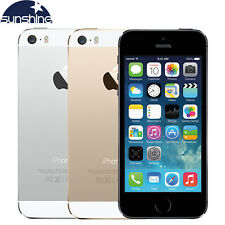Apple iPhone 5S 16GB 32GB GSM LTE Factory Unlocked Smartphone Gold Gray Silver