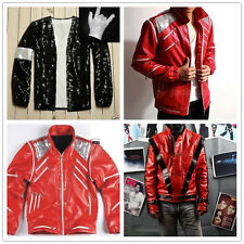 Free Gift Glove ! Michael Jackson Thriller/Beat it/Billie Jean Jackets Costumes