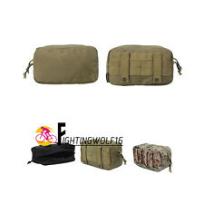 Airsoftsport 1000D Cordura Tactical Belt Pouch Utility EDC Bag with Molle System