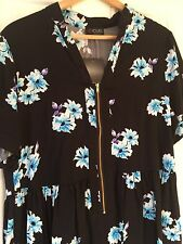 NEW Yours Longline Floral Top, Size UK 16