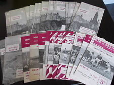 29 x Hearts Home Programmes Between 1960 And 1967 League And Cup