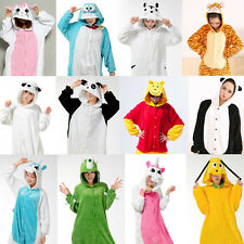 Hot  Unisex Adult  Pajamas Kigurumi Cosplay Costume Animal Onesie Sleepwear New+