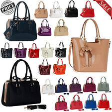 New Womens Designer Tote Shoulder Bags Faux Leather Ladies Prom Fashion Handbags