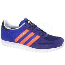Adidas Girls Originals LA Trainers Purple Classic Retro Sneakers Shoes Size 2-6